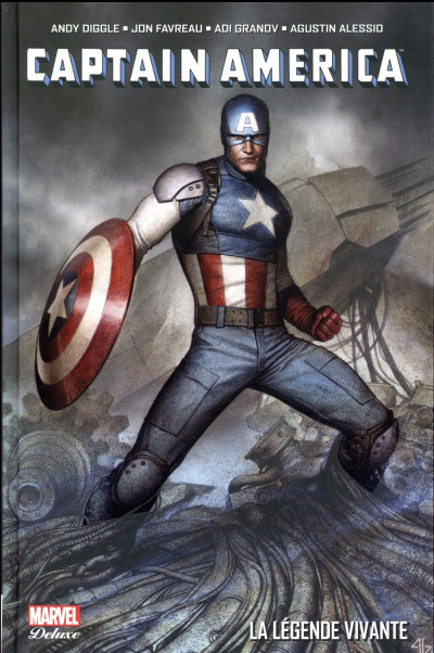 Couverture Captain America - La légende vivante