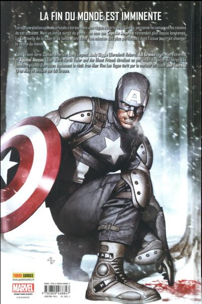 Dos Captain America - La légende vivante