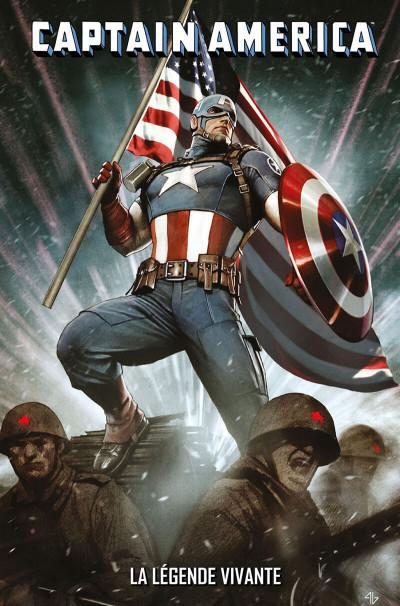 Page 1 Captain America - La légende vivante