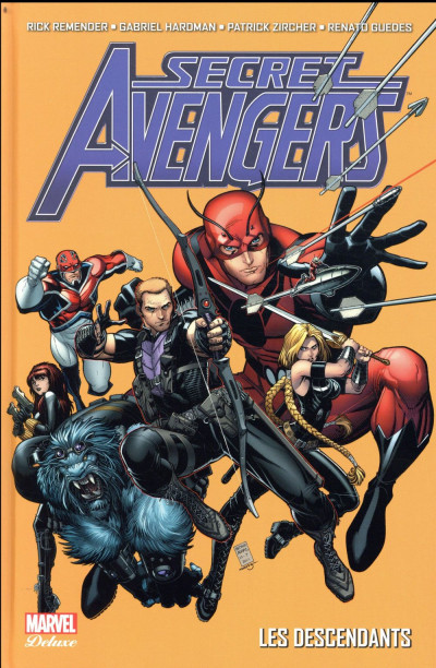 Couverture Secret Avengers par Rick Remender tome 1
