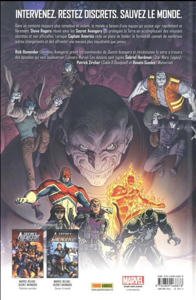 Dos Secret Avengers par Rick Remender tome 1