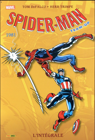 Couverture Spider-Man - team up - intégrale tome 8