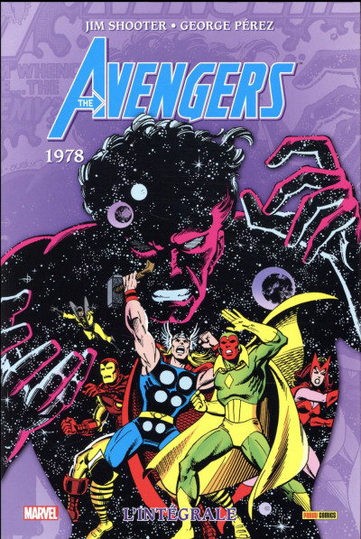 Couverture Avengers - intégrale tome 15 - 1978