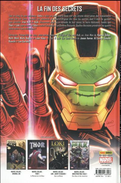 Dos Original sin - Hulk / Iron Man / Thor