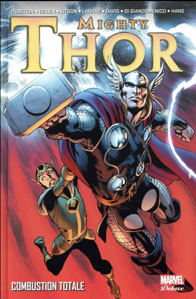 Couverture The mighty Thor deluxe tome 2