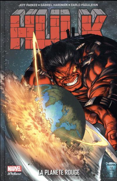 Couverture Hulk T.3 - la planète rouge