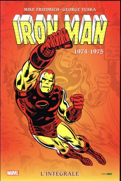 Couverture Iron Man - intégrale tome 9 - 1974-1975