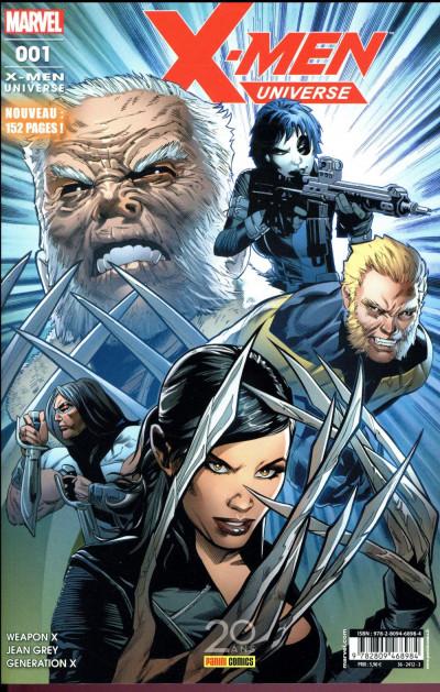 Couverture X-men universe tome 1
