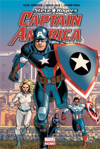 Couverture Captain America - Steve Rogers tome 1