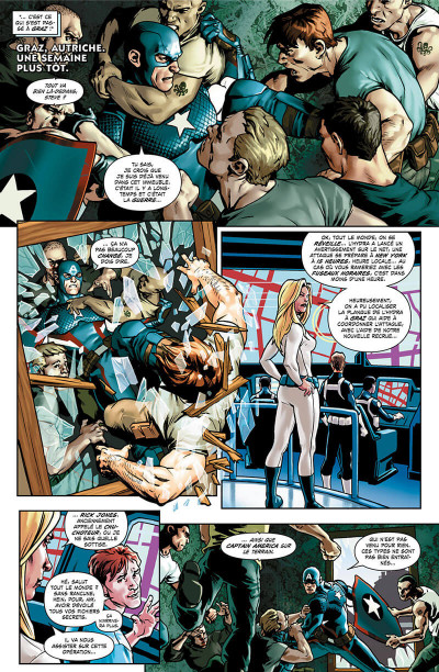 Page 5 Captain America - Steve Rogers tome 1
