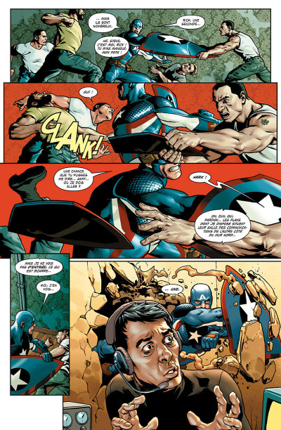 Page 6 Captain America - Steve Rogers tome 1