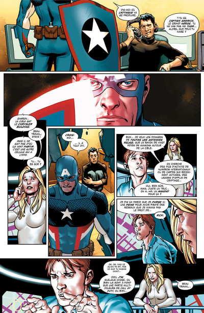 Page 7 Captain America - Steve Rogers tome 1