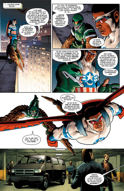 Page 8 Captain America - Steve Rogers tome 1