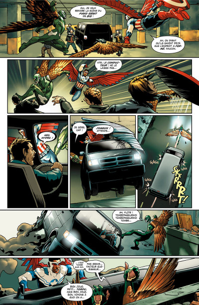 Page 9 Captain America - Steve Rogers tome 1