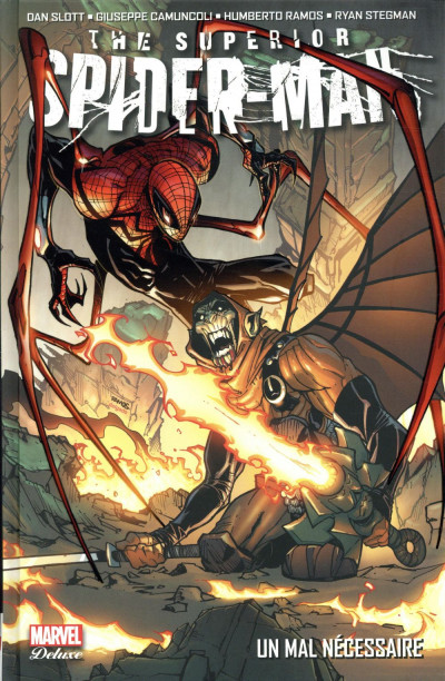 Couverture Superior Spider-Man deluxe tome 2