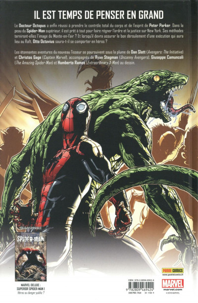 Dos Superior Spider-Man deluxe tome 2