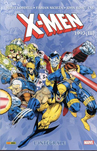 Couverture X-Men - intégrale tome 34 - 1993 (III)