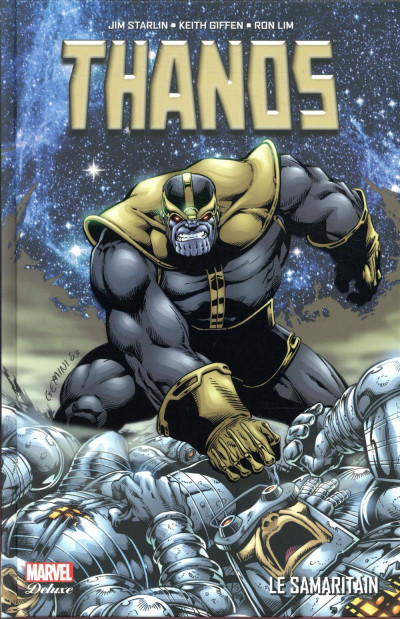 Couverture Thanos – Le Samaritain