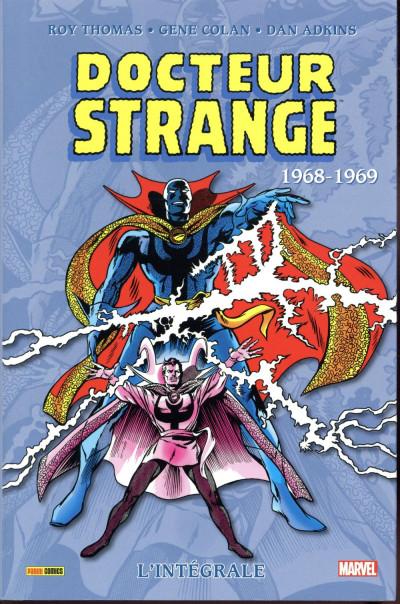 Couverture Docteur Strange - intégrale tome 3 - 1968/1969