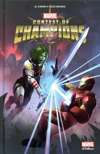 Couverture Contest of champions