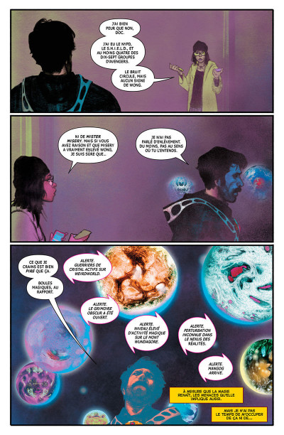 Page 9 Doctor Strange tome 4