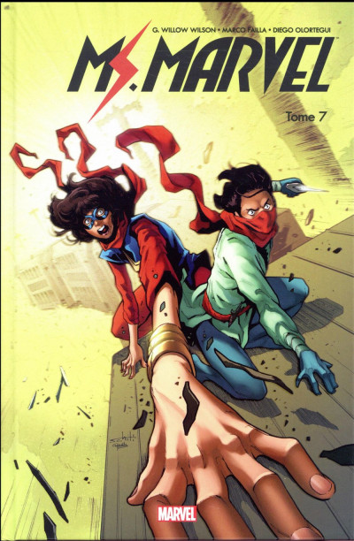 Couverture Ms. Marvel tome 7