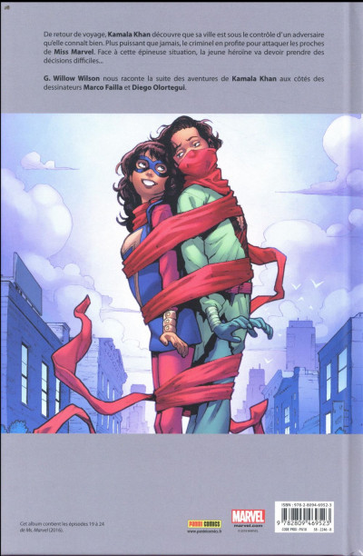 Dos Ms. Marvel tome 7