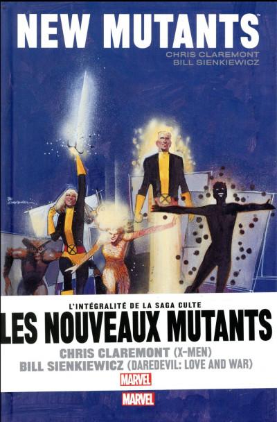 Couverture X-Men - Les nouveaux mutants par Claremont et Sienkiewicz