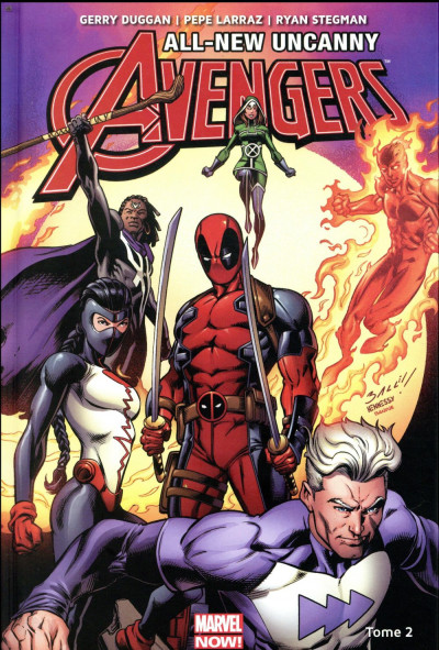 Couverture All-new Uncanny Avengers tome 2