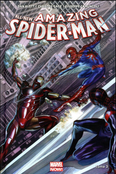 Couverture All new amazing Spider-Man tome 3