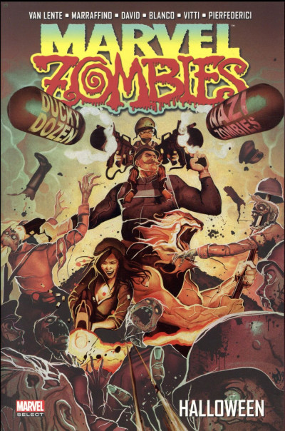 Couverture Marvel zombies tome 4