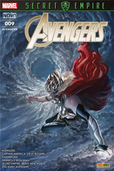 Couverture Avengers tome 9