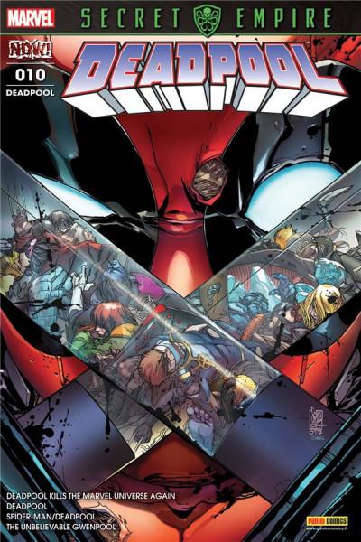 Couverture Deadpool tome 10