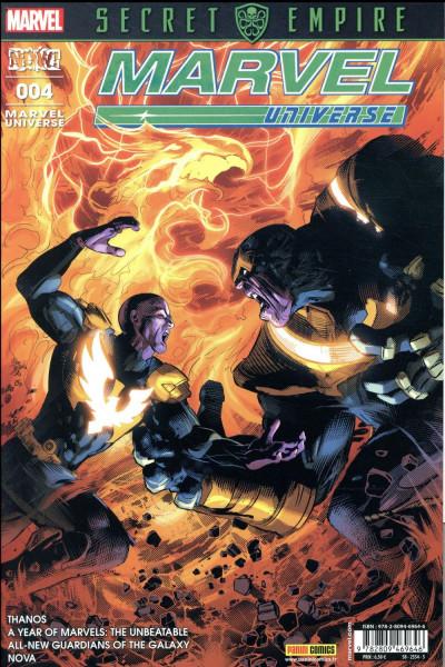 Couverture Marvel universe tome 4