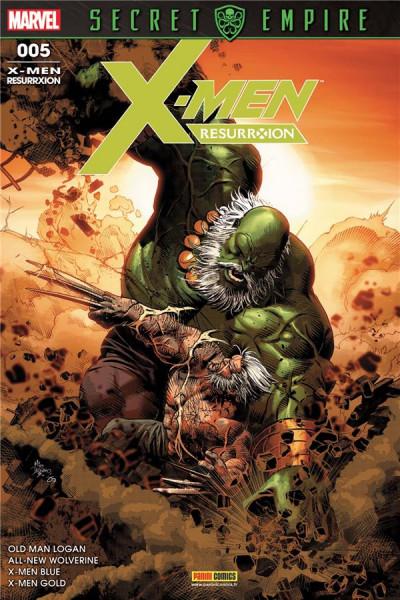 Couverture X-Men resurrxion tome 5
