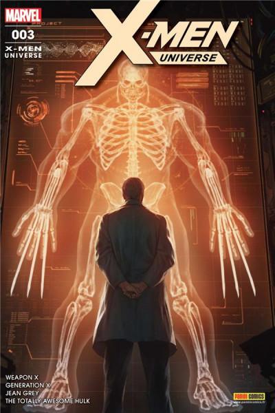 Couverture X-Men universe tome 3