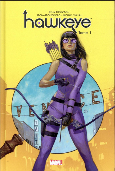 Couverture Hawkeye tome 1