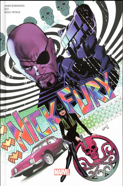 Couverture Nick Fury
