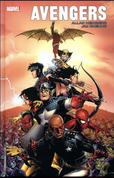 Couverture Avengers par Heinberg et Cheung