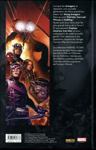 Dos Avengers par Heinberg et Cheung