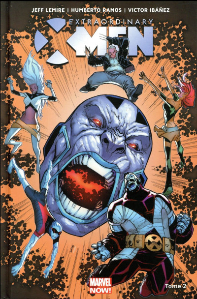 Couverture Extraordinary X-Men tome 2