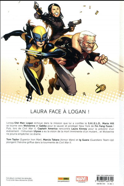 Dos All new Wolverine tome 2