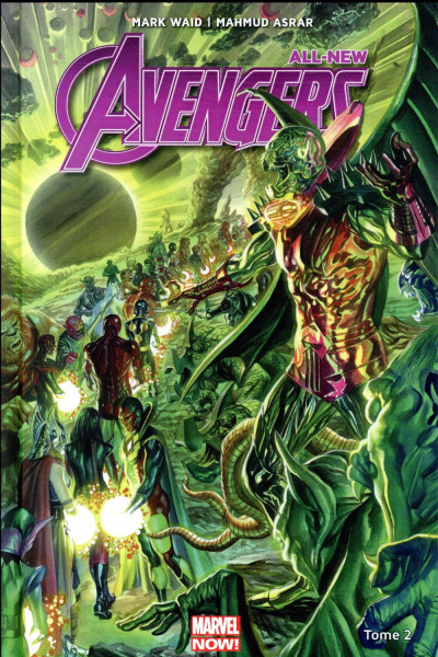 Couverture All new avengers tome 2