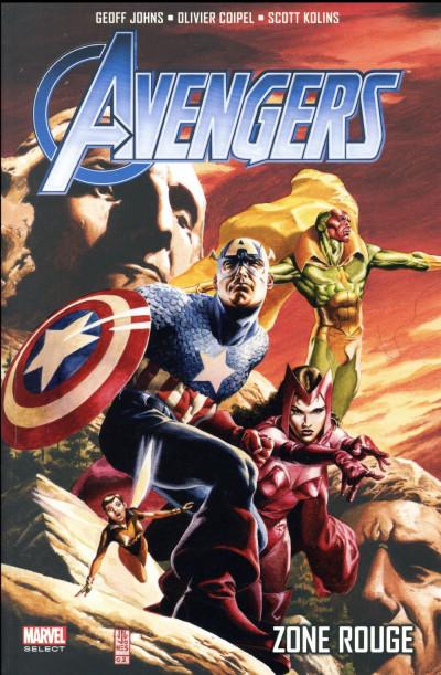 Couverture Avengers par Geoff Johns tome 2