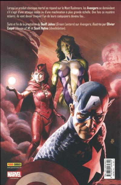 Dos Avengers par Geoff Johns tome 2