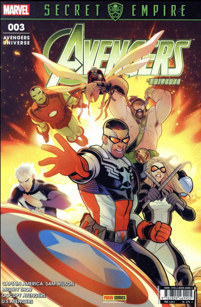 Couverture Avengers universe tome 3