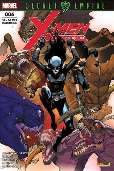 Couverture X-Men resurrxion tome 6