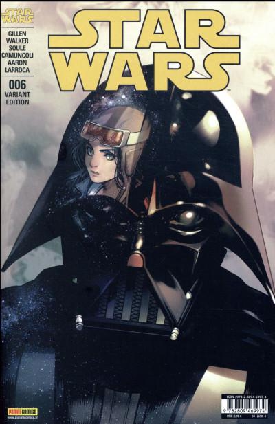 Couverture Star wars - fascicule série 2 tome 6 (couverture 2/2)