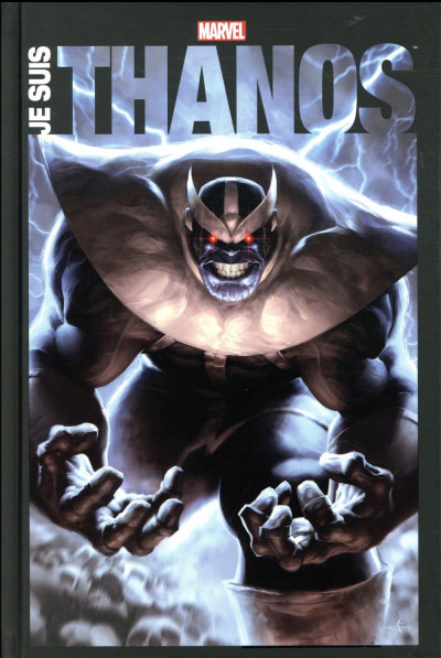 Couverture Je suis Thanos