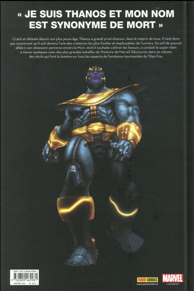 Dos Je suis Thanos